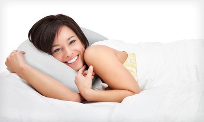 Two SensorPEDIC Memory-Foam Pillows: $39 for Two SensorPEDIC Contour or Conventional Sensor-Foam Molded Memory-Foam Pillows ($79.99 List Price)