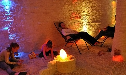 One or Three 60-Minute Salt Cave Sessions with Oxygen Cocktail and Optional 30-Minute Massage (Up to 55% Off)