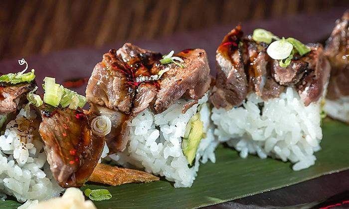 Kinki Lounge Kitchen - Ottawa: C$19 for C$30 Worth of Sushi and Eclectic Cuisine at Kinki Lounge Kitchen