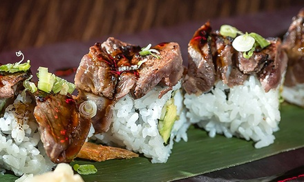 C$19 for C$30 Worth of Sushi and Eclectic Cuisine at Kinki Lounge Kitchen