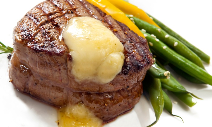 St. Charles Place Steak House - St. Charles: $30 for $50 Worth of Steak and Seafood at St. Charles Place Steak House