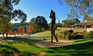 Araluen Golf Club: $109 for 18 Holes of Golf with Motorised Cart Hire for Two People at Araluen Golf Resort, Roleystone ($155 Value)