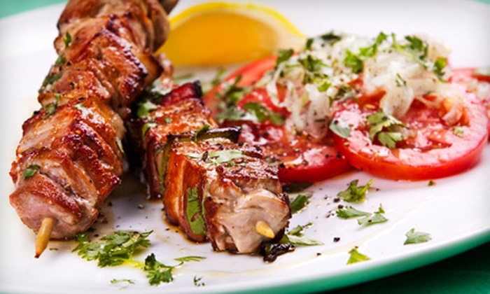 Cedars Restaurant - Queen Village -  Pennsport: Middle Eastern Dinner with Appetizers and Desserts for Two or Four at Cedars Restaurant (Up to 53% Off)