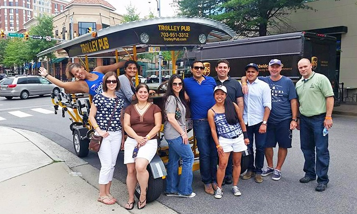 Trolley Pub - Arlington: Tours for One or Four or Private Trolley Tour for Up to Fourteen at Trolley Pub (Up to 46% Off)