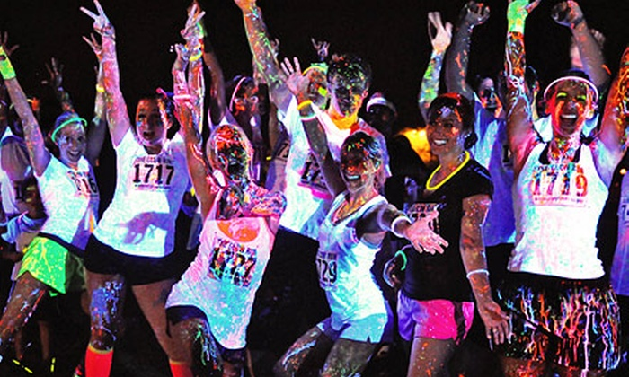 Neon Splash Dash - California Expo & State Fair: $25 for Neon Splash Dash 5K Race with T-shirt and Afterparty on Saturday, September 7th, at 7:30 p.m. ($49.95 Value)