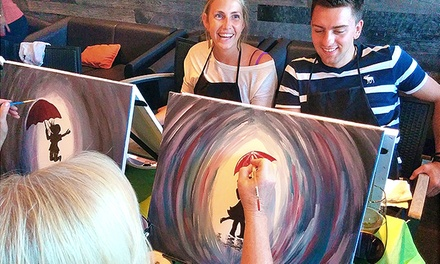 Painting Event for One or Two at Social Art KW (Up to 43% Off)
