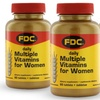 60-Count Bottles of FDC Daily Multiple Vitamins for Women
