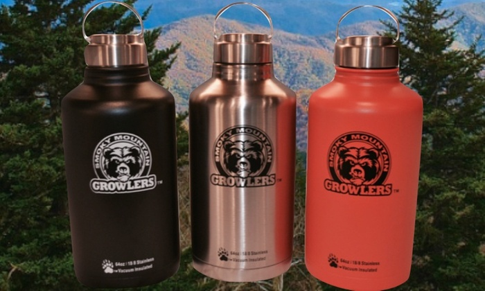 Smoky Mountain Growlers - Knoxville: $47 for $55 Worth of Drinkware — Smoky Mountain Growlers