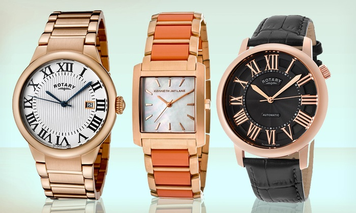 Designer Men's and Women's Watches: Designer Men's and Women's Watches (Up to 91% Off). Multiple Styles Available. Free Shipping and Returns.