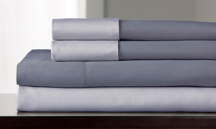 reversible cottonrich sheet set 600thread