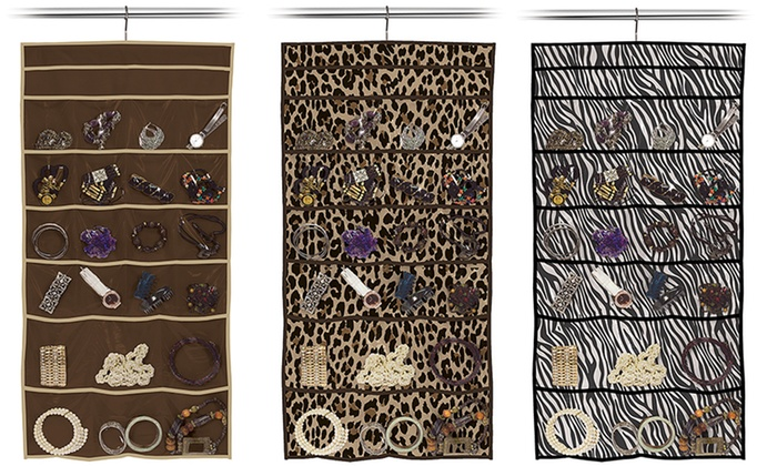 22Pocket Hanging Jewelry Organizer Groupon
