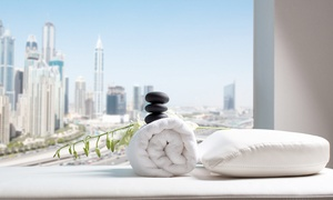 Fit & Spa Lounge-Pullman Jumeirah Lakes Towers: Spa Day with a Massage and Optional Body Scrub at Fit & Spa Lounge at Pullman Jumeirah Lakes Towers (Up to 59% Off)