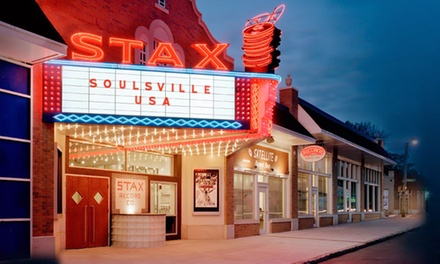 Admission and Promotional Ink Pens for Two, Four, or Six at Stax Museum of American Soul Music (Up to 50% Off)