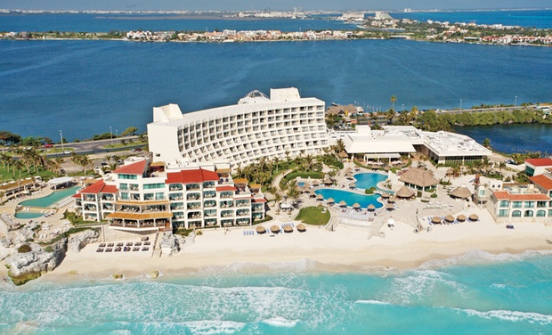 TripAlertz wants you to check out ✈ All-inclusive Grand Park Royal Cancún Caribe Stay w/ Air from Vacation Express. Price/Person Based on Dbl Occupancy. ✈ Grand Park Royal Cancún with Nonstop Air from Vacation Express - All-Inclusive Cancún Stay w/ Air