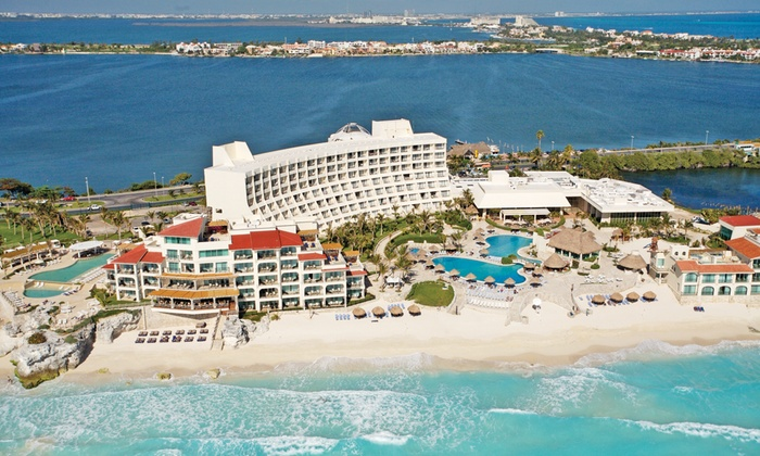 All inclusive grand park royal cancun caribe vacation with for Winter all inclusive vacations
