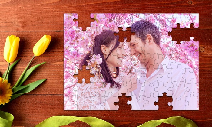 Printerpix: Custom Photo Puzzle from Printerpix (Up to 68% Off). Three Options Available.