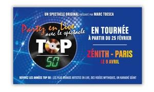 Décibels Productions: 1 place en catégorie 1, 2 ou carré or pour la Tournée Top 50 à Strasbourg dès 19 €