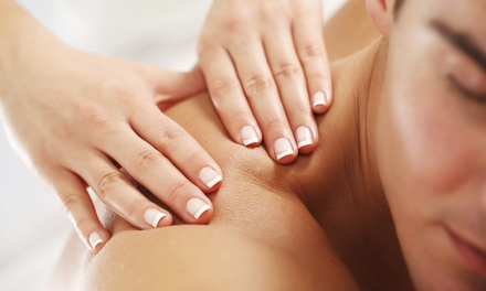 60-Minute Stress-Relief or Swedish Massage with Add-Ons at Katie Cote Spa (Up to 51% Off)