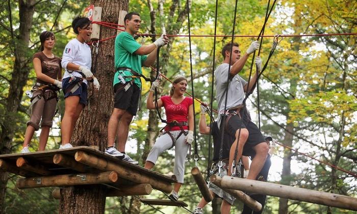 Orlando Tree Trek Adventure Park - Kissimmee: $68 for Zipline-Course Admission for Two at Orlando Tree Trek Adventure Park ($99.90 Value)