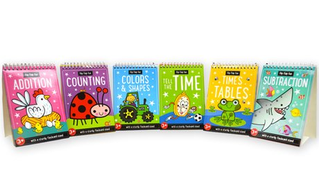 Educational Flashcard Stands (6-Piece)