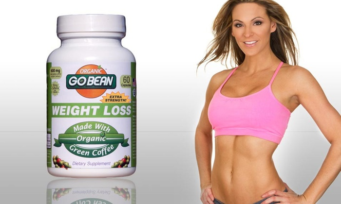 GoBean Organic Green-Coffee Supplement: One, Two, or Three Bottles of GoBean Organic Green-Coffee Weight-Loss Supplement (Up to 70% Off)