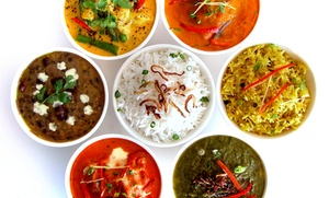 Everest Restaurant: Indian and Nepali Cuisine at Everest Restaurant (48% Off). Four Options Available.