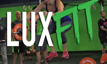 Up to 85% Off 5 Classes or One Month Unlimited at Crossfit Lux