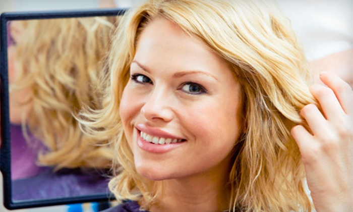 T&N Hair Saloon - Pottstown: Hairstyling and Color Services at T&N Hair Saloon (Up to 59% Off). Three Options Available.