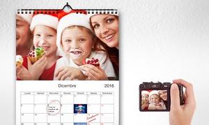 Calendario da muro personalizzato