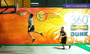 Rockin' Jump: One Hour of Trampoline Time for Two, Four, or Six at Rockin' Jump (Up to 57% Off)