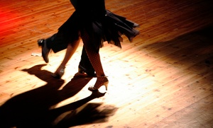 Fancy Feet Ballroom & Latin Dancing: Group and Private Lessons at Fancy Feet Ballroom & Latin Dancing (Up to 62% Off). Four Options Available.