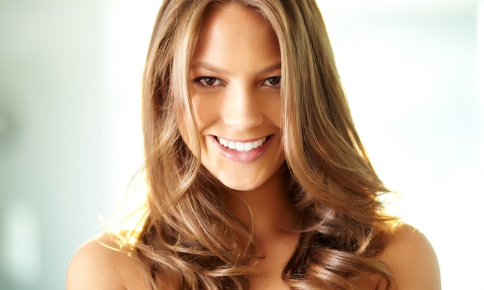 Parker & Floyd's Hair and Esthetics Studio - Multiple Locations: Haircut Package with Optional Partial or Full Highlights at Parker & Floyd's Hair and Esthetics Studio (Up to 55% Off)