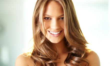 Haircut Package with Optional Partial or Full Highlights at Parker & Floyd's Hair and Esthetics Studio (Up to 55% Off)