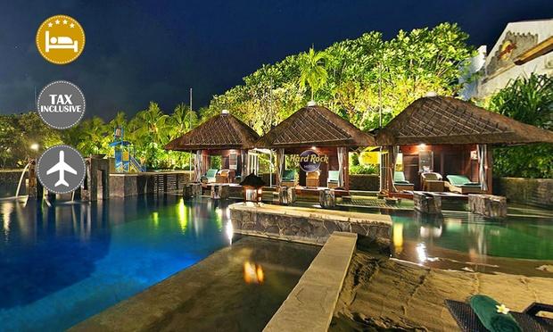 Bali: Hard Rock Hotel & Flights 0