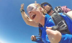 Piedmont Skydiving: Tandem-Skydiving for One or Two with $20 Credit Toward Photos and Videos at Piedmont Skydiving (Up to 27% Off)
