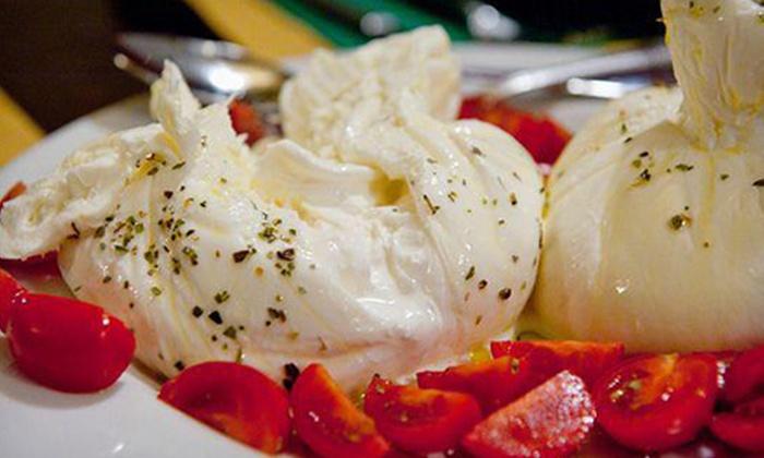 Arezzo Ristorante - Fulton: Tuscan Cuisine, Neapolitan Pizza, and Drinks for Lunch or Dinner at Arezzo Ristorante (Half Off)