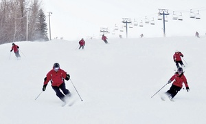 Rabbit Hill Snow Resort: Weekday or Weekend Lift Tickets with Optional Ski or Snowboard Rental for Two (Up to 55% Off)