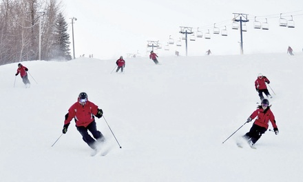 Weekday or Weekend Lift Tickets with Optional Ski or Snowboard Rental for Two (Up to 55% Off)