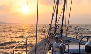 OC Yacht Charter: Two-Hour Romantic Sunset Cruise with a Complimentary Bottle of Wine from OC Yacht Charter