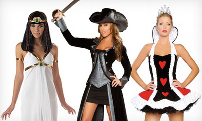 Just Right Costumes: Sexy Costumes at Just Right Costumes (Half Off). Two Options Available.