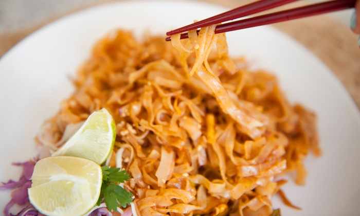 Mai Thai - Prairie Center: Thai Cuisine and Drinks at Mai Thai (50% Off). Two Options Available.