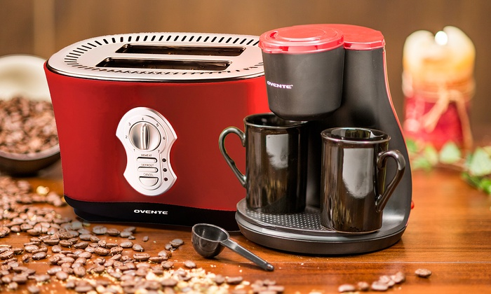 Ovente Toaster And Coffee Maker Groupon Goods