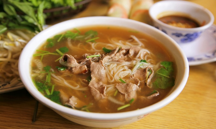Pho and asian cuisine pho n more groupon for Asian cuisine and pho