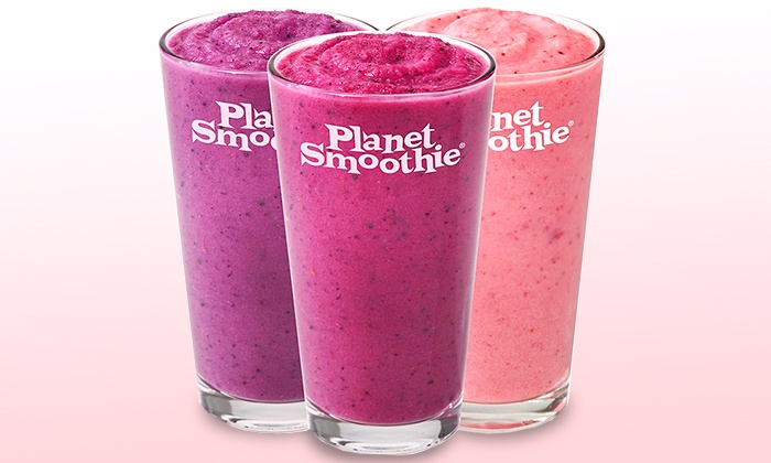 Planet Smoothie - Davie: $13 for Two Groupons, Each Good for $10 Worth of Smoothies at Planet Smoothie ($20 Total Value)