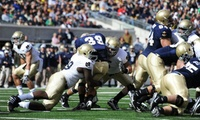 GROUPON: Up to 52% Off Navy vs. Notre Dame Football from RPPI  Navy Midshipmen vs. Notre Dame Fighting Irish