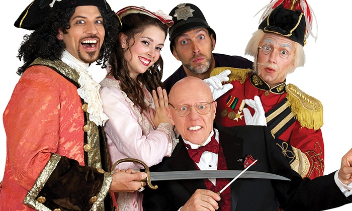 "The Pirates of Penzance - Count Basie Theatre: ""The Pirates of Penzance"" on October 18 at 3 p.m."