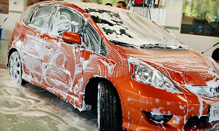 Emeralds Hand Car Wash & Detail Center - Romeoville: One Complete Auto Detail with Option for Three Hand Car Washes at Emeralds Hand Car Wash and Detail Center (Half Off)