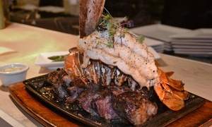 Prime 13: Steaks and Seafood for Two or Four or More at Prime 13 (45% Off)