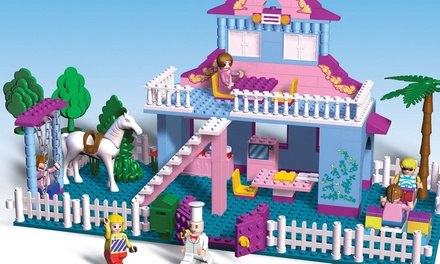 Princess Castle, Horse, Carriage, Magic Garden and Dream House Bundle or My Dream House Brick Set for £19.99