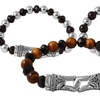 Men's Stainless Steel Beaded Bracelets